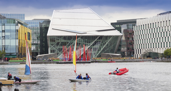 Bord Gais Grand Canal Mark Reddy Architectural Photographer