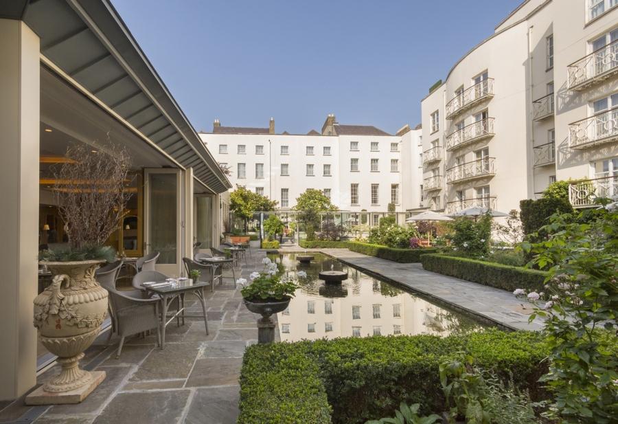 Merrion Hotel  DublinGarden Terrace Mark Reddy Trinity Digital Studios Commercial Photographer