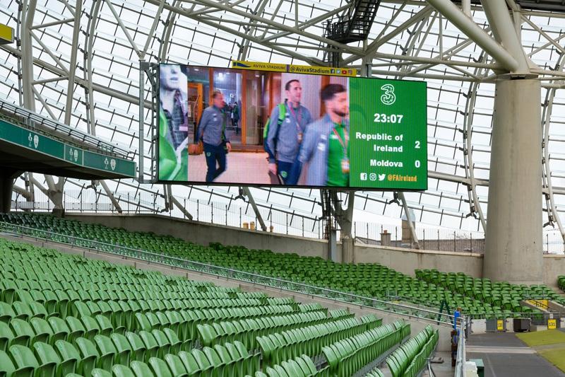 Aviva Stadium Screens