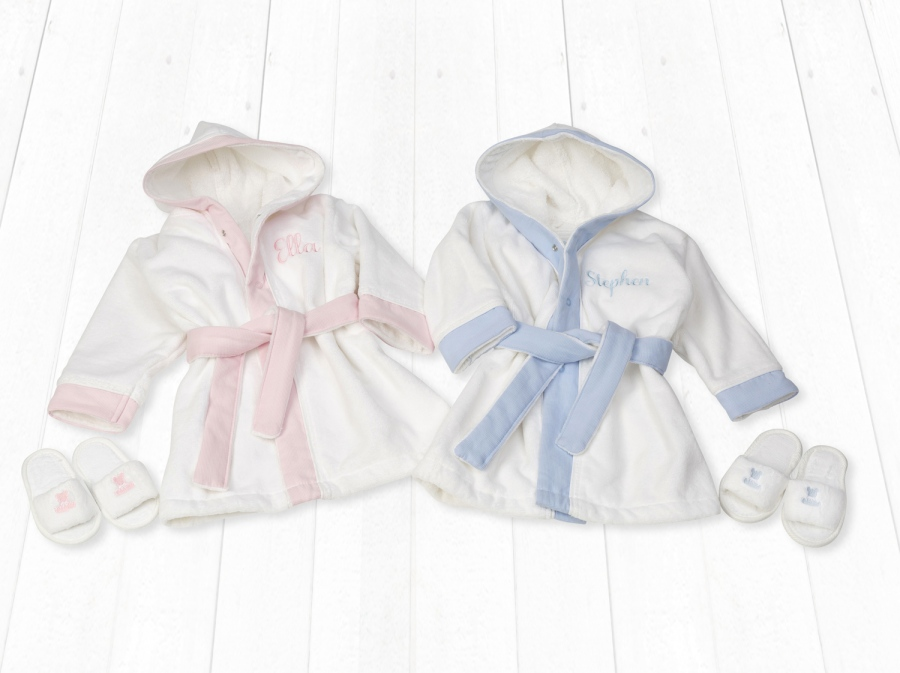 Babygifts Towelling Robes Commercial and Advertising Photography by Mark Reddy of Trinity Digital Studios.