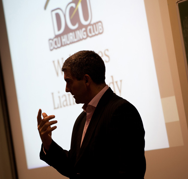 DCU conference Mark Reddy Commercial Photographer Trinity Digital Studios