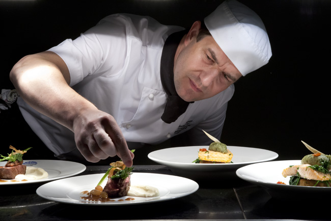 Chef Compass Catering Belfast Mark Reddy Commercial Photographer Trinity Digital Studios