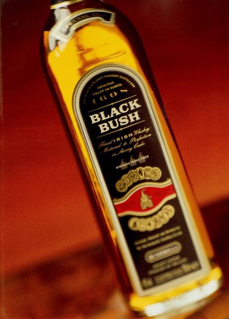 Black Bush Whiskey Mark Reddy Commercial Photographer Trinity Digital Studios