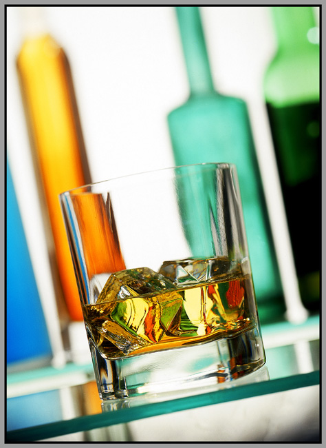 Irish Whiskey and ice Mark Reddy Commercial Photographer Trinity Digital Studios