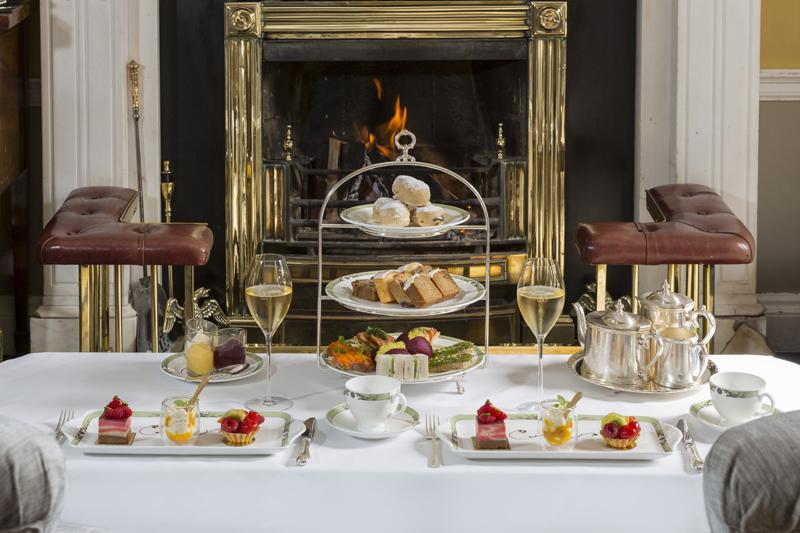 Merrion hotel Afternoon Tea Fireside