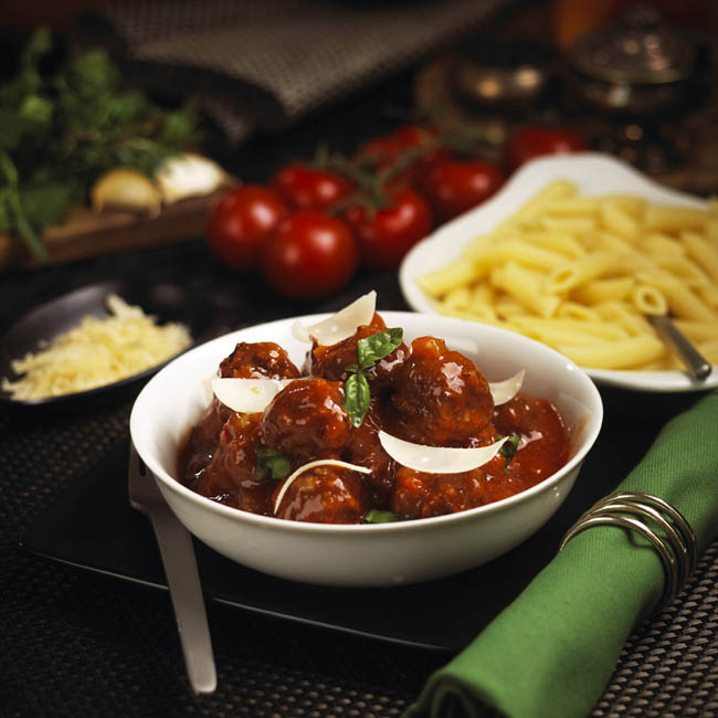 Italian Meatballs Mark Reddy Food Photographer Trinity Digital Studios