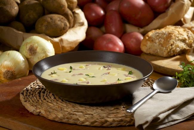 Potato Bacon Thyme Soup Mark Reddy Food Photographer Trinity Digital Studios