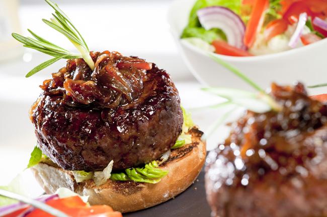 Rump steak Burger Mark Reddy Food Photographer Trinity Digital Studios