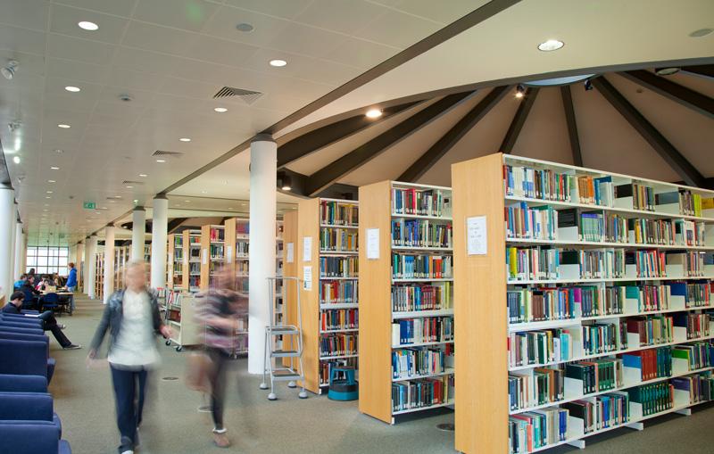 UCD Library-Interior Photography Interior Photography Mark Reddy Trinity Digital Studios